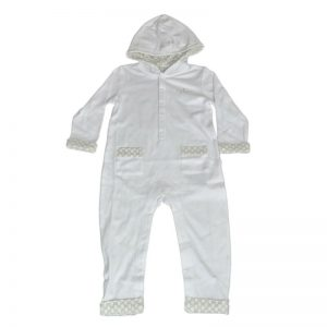 Buy New Authentic Gucci Long Sleeve Hoodie babysuit w/Logo, 12/18 Month, 277828