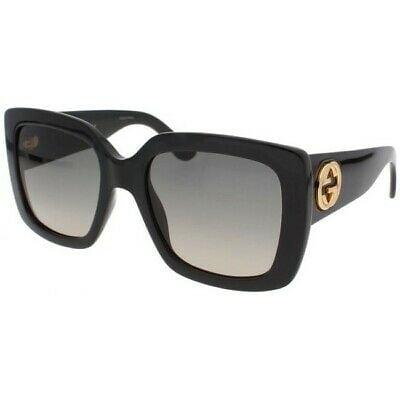 Buy New Gucci Grey Gradient Square Women's Sunglasses GG0141S-001