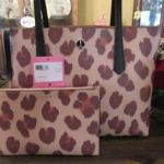 Buy New Kate Spade New York Leather Molly Leopard SM Tote Satchel With Pouch Purse