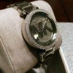 Buy New Michael Kors Parker Silver Pave Crystal Logo Dial MK5925 Women's watch NIB