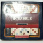 Buy New Scrabble Luxury Edition Board Game Wooden Rotating Gameboard Sealed