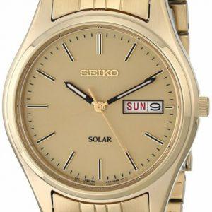 Buy New Seiko Men'S Sne036 Stainless Steel Solar Watch F/S
