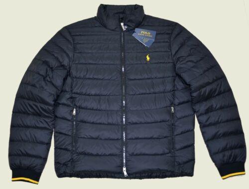 Buy New XL Mens RALPH LAUREN POLO jacket packable puffer down Black Coat winter XLG