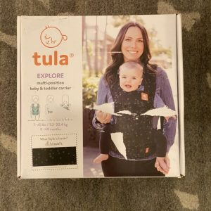 Buy New tula Explore Multi-position Baby & Toddler Carrier - Black W/ Stars
