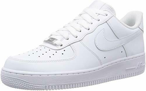 Buy Nike Air Force 1 07 Triple All White Classic Sneakers AF1 315122-111 MEN YOUTH