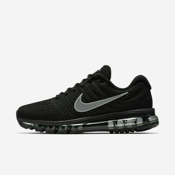 Buy Nike Air Max 2017 Running Shoes Black Anthracite White 849559-001 Men's NEW