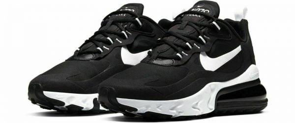 Buy Nike Air Max 270 React Black White AT6174-004 Running Shoes Women's Multi Size