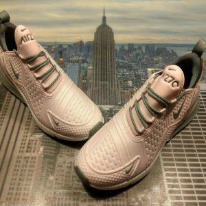 Buy Nike Air Max 270 SE Light Arctic Pink/Grey GS Grade School Size 6.5Y AQ2654 600