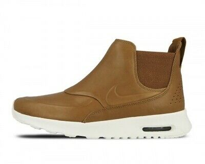 Buy Nike Air Max Thea Mid Sneakerboot Shoes Boots 859550 200 Brown Leather Womens