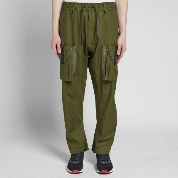 Buy Nike NikeLab ACG NRG Cargo Pants Dark Olive Green Black Long AQ3524-395 Men's