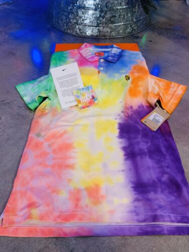 Buy Nike Tie Dye Tye Die Polo New In Special Box Very Limited Shirt Size Small