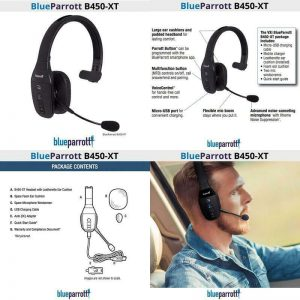 Buy Noise Canceling Mircophone Headset Wideband Hd Voice Audio Clearer Conversations