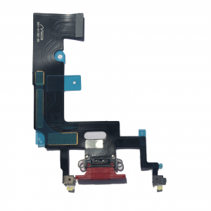 Buy OEM Charger Charging Port Dock Flex Cable Mic Replacement for iPhone XR Red