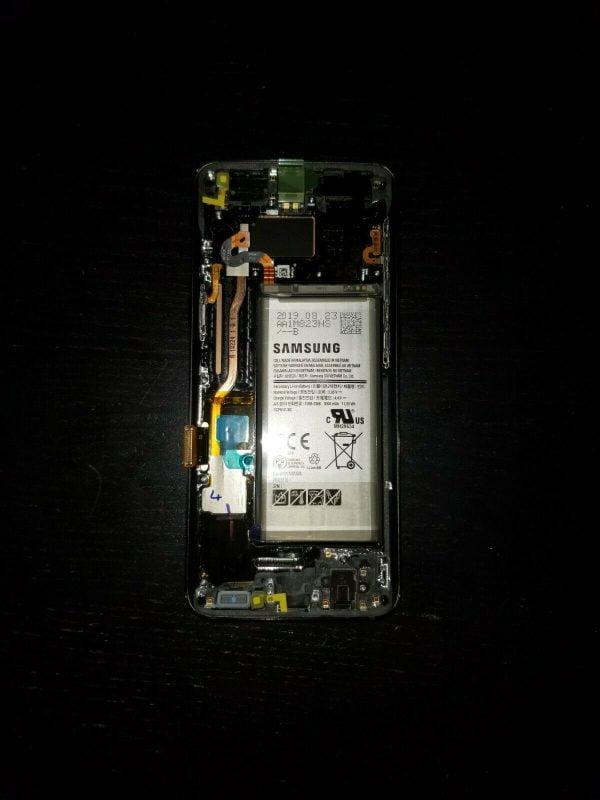 Buy OEM Samsung Galaxy S8 Display w/ Battery & Frame. Midnight Black.