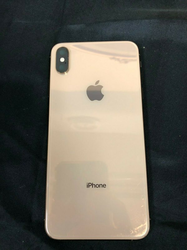 Buy OEM original NEW  Apple iPhone XS MAX Rose Gold BACK HOUSING MID FRAME grade A