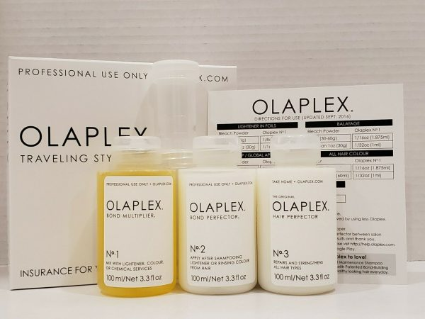 Buy OLAPLEX TRAVELING STYLIST KIT - STEP NO 1, 2 & 3 SET !!