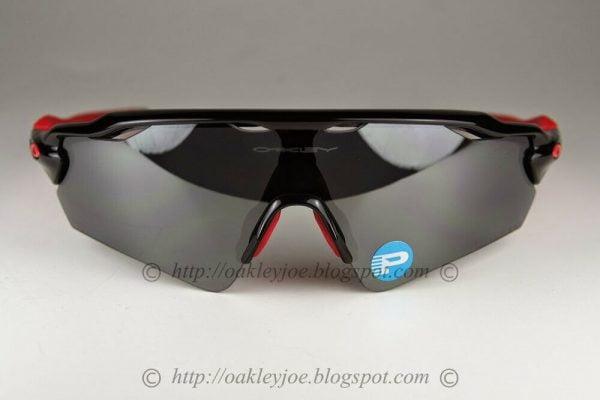 Buy Oakley Radar EV Path POLARIZED Sunglasses OO9275-06 Polished Black W/ Black Lens