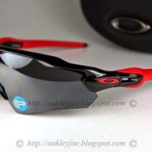 Buy Oakley Radar EV Path POLARIZED Sunglasses OO9275-06 Polished Black W/ Black Lens