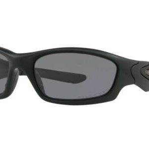 Buy Oakley SI Straight Jacket POLARIZED Sunglasses 11-014 Matte Black W/ Grey Lens