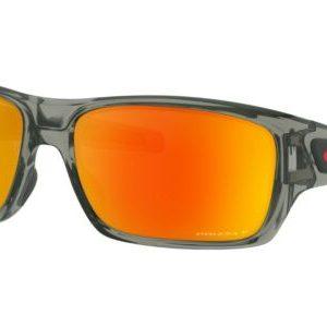 Buy Oakley Turbine POLARIZED Sunglasses OO9263-5763 Grey Smoke W/ PRIZM Ruby Lens