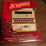Buy Official Scrabble Deluxe Players Dictionary Franklin Electronics SCR 228