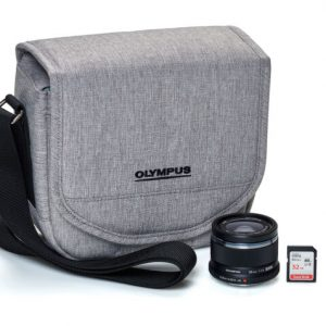 Buy Olympus Kit w 25mm F1.8 Lens, Case and 32GB SD Card for E-M10s E-PL8 E-PL9 E-M5s