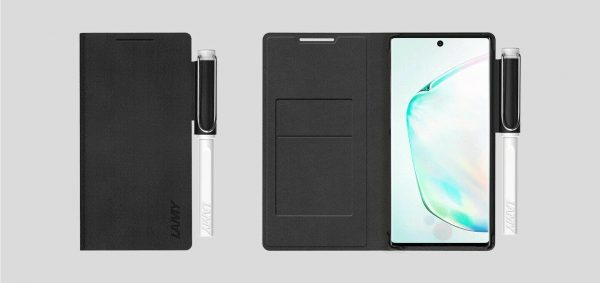 Buy Original Samsung Galaxy Note10+ LAMY Limited Wallet Cover Stylus Safari Pen Set