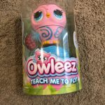 Buy Owleez Flying Baby Owl Interactive Toy (Drone) with Lights & Sounds (Pink) - NEW