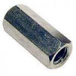 Buy PFC 896085-BR Regular Coupling Nut, 5/8-11 in Thread, Coarse, Steel
