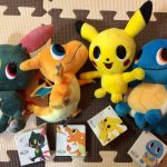 Buy POKEMON TIME MAGNET PLUSHIE 4 TYPES SET PIKACHU SQUIRTLE FROM JAPAN *TKI1117
