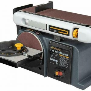Buy POWERTEC BD4600 Belt Disc Sander For Woodworking | 4 In. x 36 in. Belt Sander