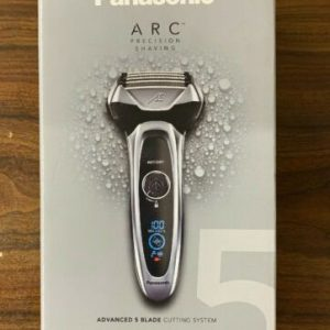 Buy Panasonic ES-LV65-S Arc5 Men's 5-Blade Cordless Electric Razor with Shave Sensor