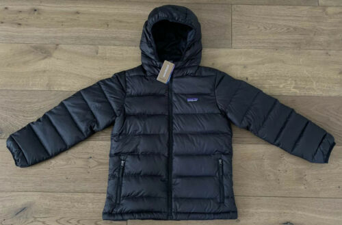 Buy Patagonia Boys Hi Loft Down Hoody Jacket Puffer Jacket Size Medium 10 NEW $179