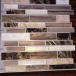 Buy Peel&Stick Backsplash Mosaics Vinyl Self Adhesive . Verona Beige. 25 Sheets.