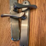 Buy Pella Satin Nickel French Door Hardware Handleset - Inactive 2017 Vintage ~New