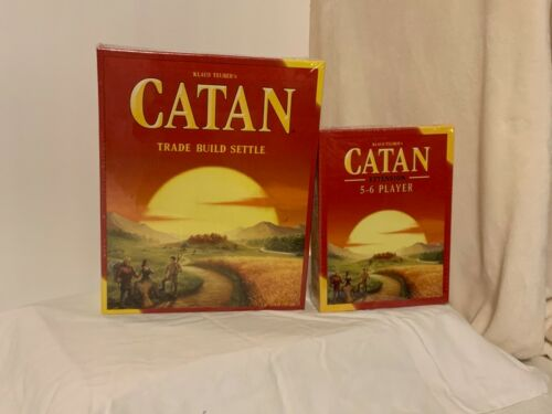 Buy Please Help the USO for our Troops! SETTLERS OF CATAN, 5-6 PLAYER, SEAFARERS NIS