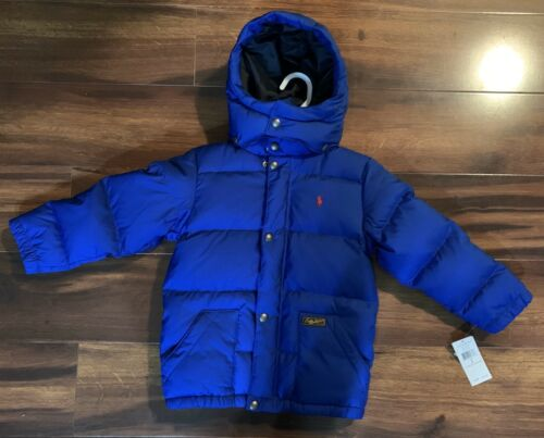 Buy Polo Ralph Lauren Boys Down Hooded Jacket - Size 5 Brand NEW $165