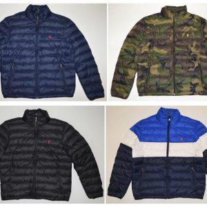 Buy Polo Ralph Lauren DOWN Jacket Full Zip PACKABLE Puffer Lightweight Coat S-XXL