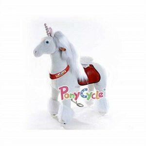 Buy Ponycycle Toy Ride on Pony Unicorn Medium by PonyCycle