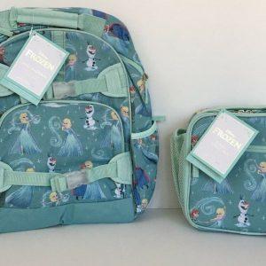 Buy Pottery Barn Kids Disney Frozen Large Backpack Lunch Box Water Bottle NEW NWT