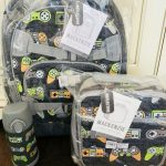 Buy Pottery Barn Kids Gamer Large Backpack Lunch Box Water Bottle Reflective No Mono
