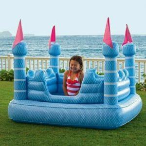 Buy Pottery Barn Kids Outdoor Yard Castle Shaped Pool Water Summer Fun Blue Regal