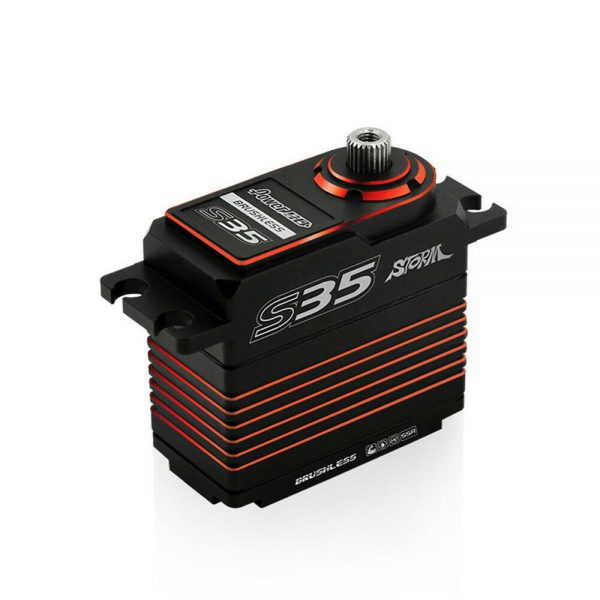 Buy Power HD Storm35 High Pressure Brushless Servo 35KG Metal Gears for RC Vehicles