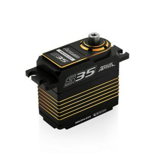 Buy Power HD Storm35 High Pressure Brushless Servo 35KG Metal Gears for RC Vehicles