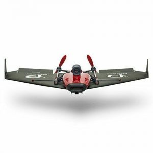 Buy PowerUp FPV Paper Airplane VR Drone Model Kit, Red