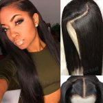 Buy Pre Plucked Silk Base Full Lace Wigs Straight Peruvian Remy Human Hair Wig Women