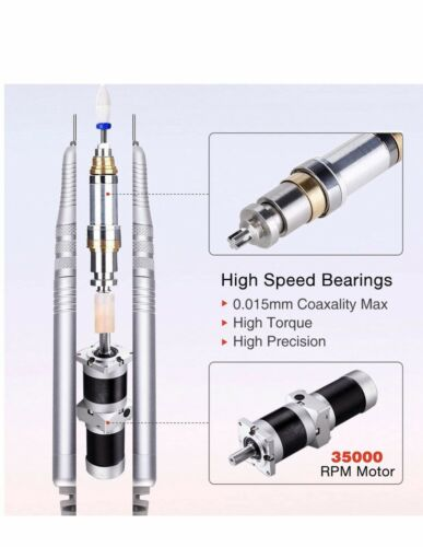 Buy Professional Brushless Nail Drill Machine, Imene 35,000Rpm Portable Electric Nai