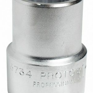 """Buy Proto 2-1/8"""" Alloy Steel Socket with 1"""" Drive Size and Satin Finish Satin  Alloy"""