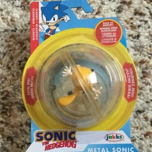 "Buy RARE! Classic Sonic the Hedgehog Booster Spin Sphere ""Ray"" ***MISPACKAGED***"
