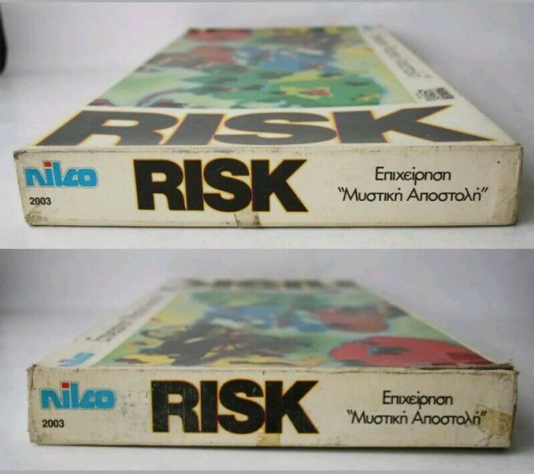 Buy RARE VINTAGE 80'S RISK BOARD GAME PARKER BROTHERS NILCO GREECE NEW !